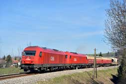 ÖBB 2016 042 u. 2016 041 in Durach