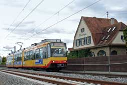 AVG-Stadtbahn in Maichingen